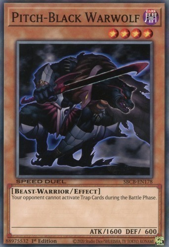 pitchblack warwolf yugioh top decks