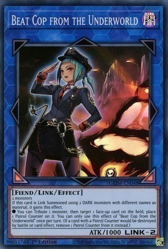 YUGIOH DUPO-EN038 Ultra Rare 1st Edition NM Beat Cop from the Underworld