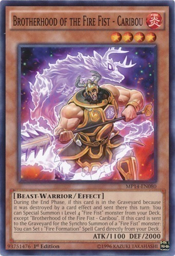 brotherhood of the fire fist deck price