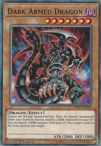 Dark Armed Dragon | Yugioh Top Decks