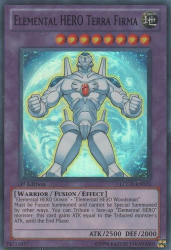 Elemental HERO Terra Firma : YuGiOh Card Prices