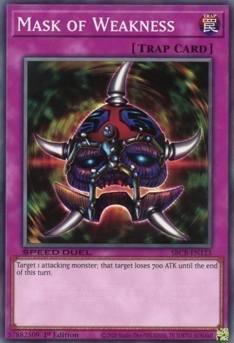 Mask of Weakness YS15-END19 Common Yu-Gi-Oh Card Mint 1st Edition New