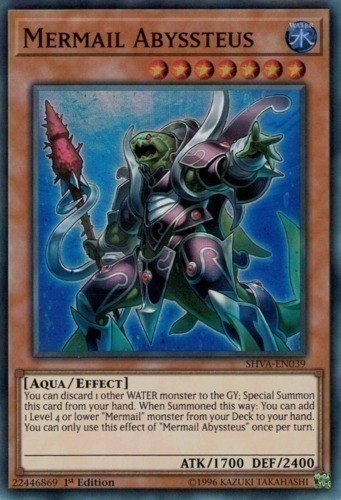 Mermail Abyssteus - Super Rare - SHVA-EN039 - Effect Monster