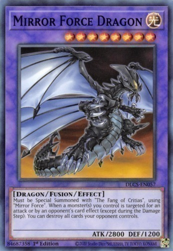 Mirror force dragon yugioh top decks for Mirror force