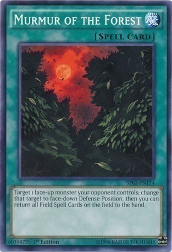 1st Edition Yu-Gi-Oh Rare x3 Murmur of the Forest M//NM PHSW-EN058
