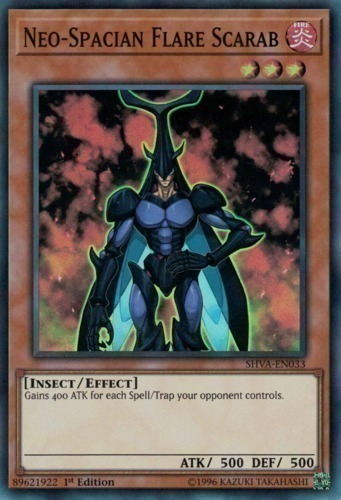 Neo-Spacian Flare Scarab - Super Rare - SHVA-EN033 - Effect Monster