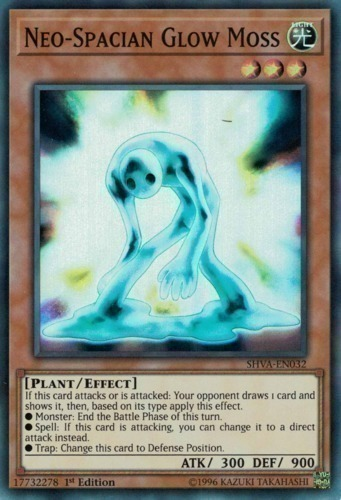 Neo-Spacian Glow Moss - Super Rare - SHVA-EN032 - Effect Monster