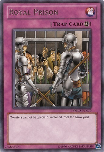 ORCS-EN079 Royal Prison Rare UNL Edition Mint YuGiOh Card