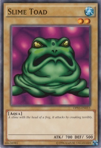 MP1-004 Yugioh Common Frog the Jam Unlimted Near Mint