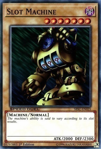 Slot Machine Yugioh Deck