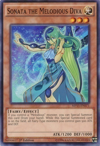Sonata the Melodious Diva : YuGiOh Card Prices