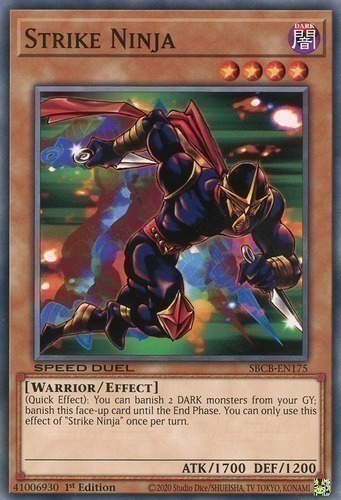 Strike Ninja - Super Rare - SHVA-EN021 - Effect Monster