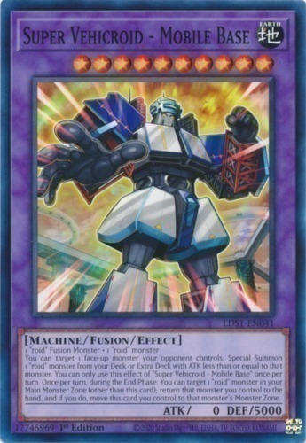 Super vehicroid mobile base yugioh card prices