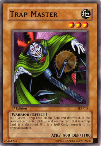 trap master yugioh card prices