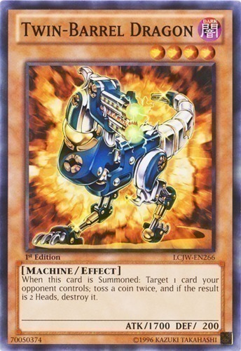 Losse kaarten Yugioh Twin-Barrel Dragon TDGS-EN029 NM/Mint Super Rare