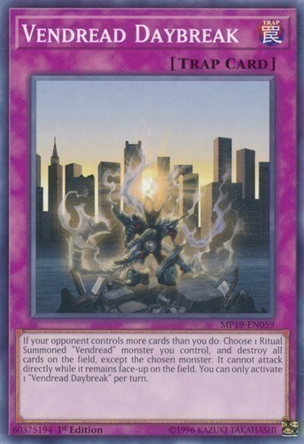 Vendread Daybreak - Common - Normal Trap Card - FLOD