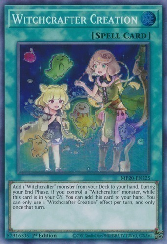 M//NM Ultra Rare 3x DUOV-EN096 1st Edition YuGiOh - Witchcrafter Creation