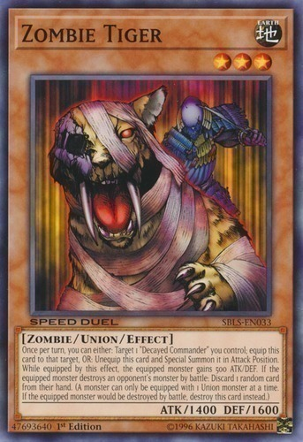 Zombie tiger yugioh card prices