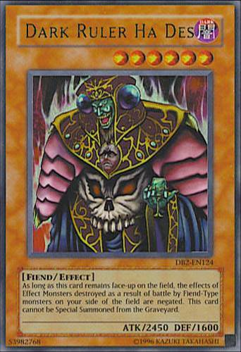 Dark Ruler Ha Des : YuGiOh Card Prices