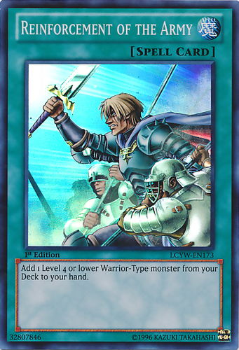 V for YS13-EN029 6x Reinforcement of the Army Common NM Super Starter