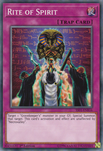 x3 Yugioh Rite Of Spirit 1st Edition Playset NM Speed Dueling SS01 ENB16