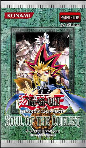 Yugioh Soul Of The Duelist Unlimited  Edition 24-Count Booster Box TCG CCG Cards