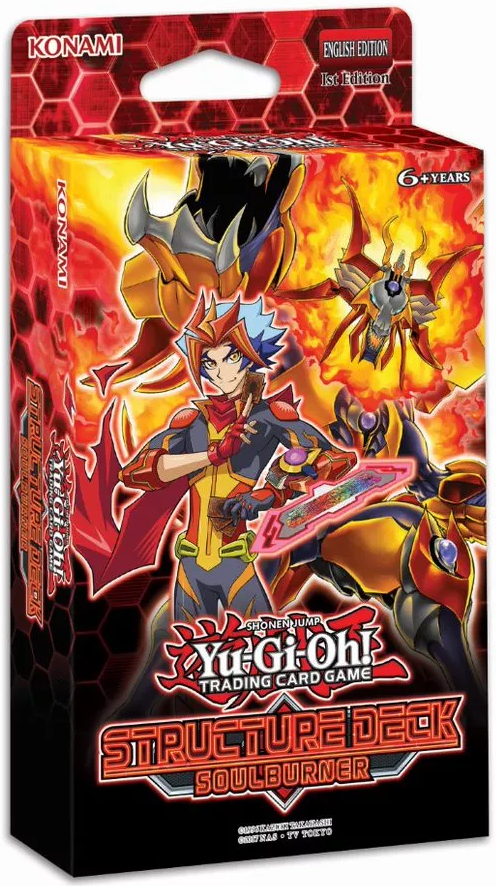 Structure Deck Soulburner Yugioh Card Prices